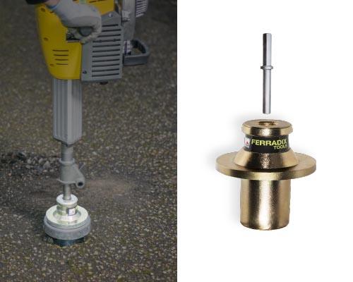 FERRADIX Einschlagwerkzeug mit Wackerhammer