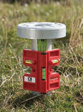 Libelle Winkelwasserwaage magnetisch ausrichten